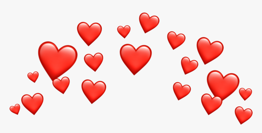 Crown Emoji Png -crown Transparent Broken Heart Emoji - Blue Heart Crown Png, Png Download, Free Download