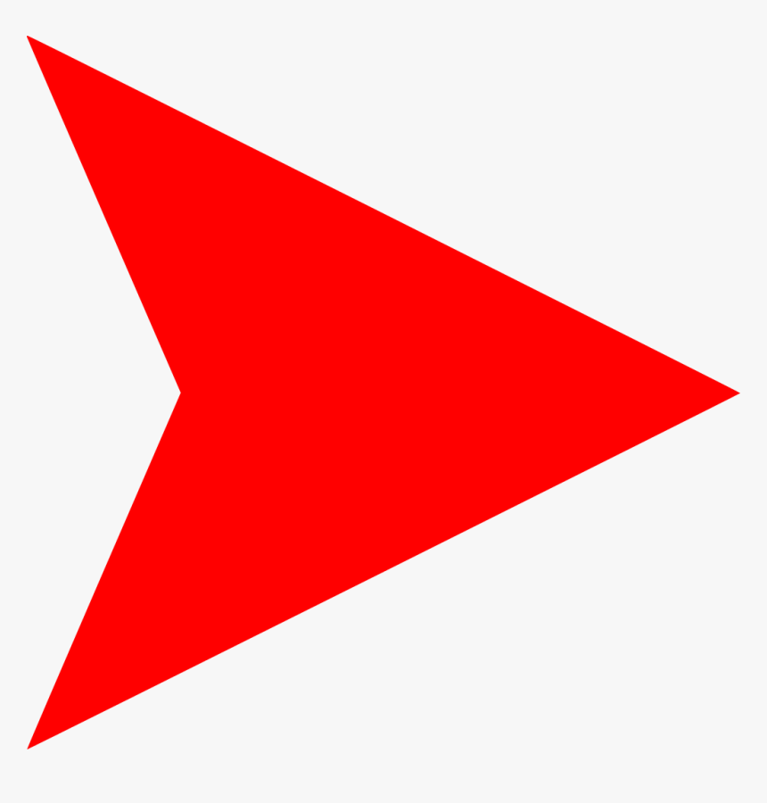 Right Red Arrow Logo, HD Png Download, Free Download