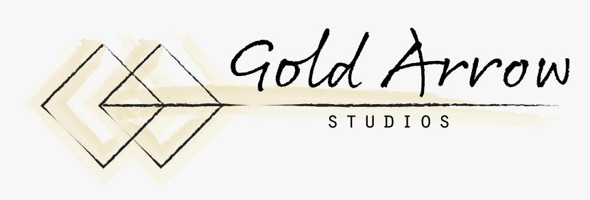 Gold Arrow Studios Logo Gold Arrow Studios Etsy Banner - Calligraphy, HD Png Download, Free Download