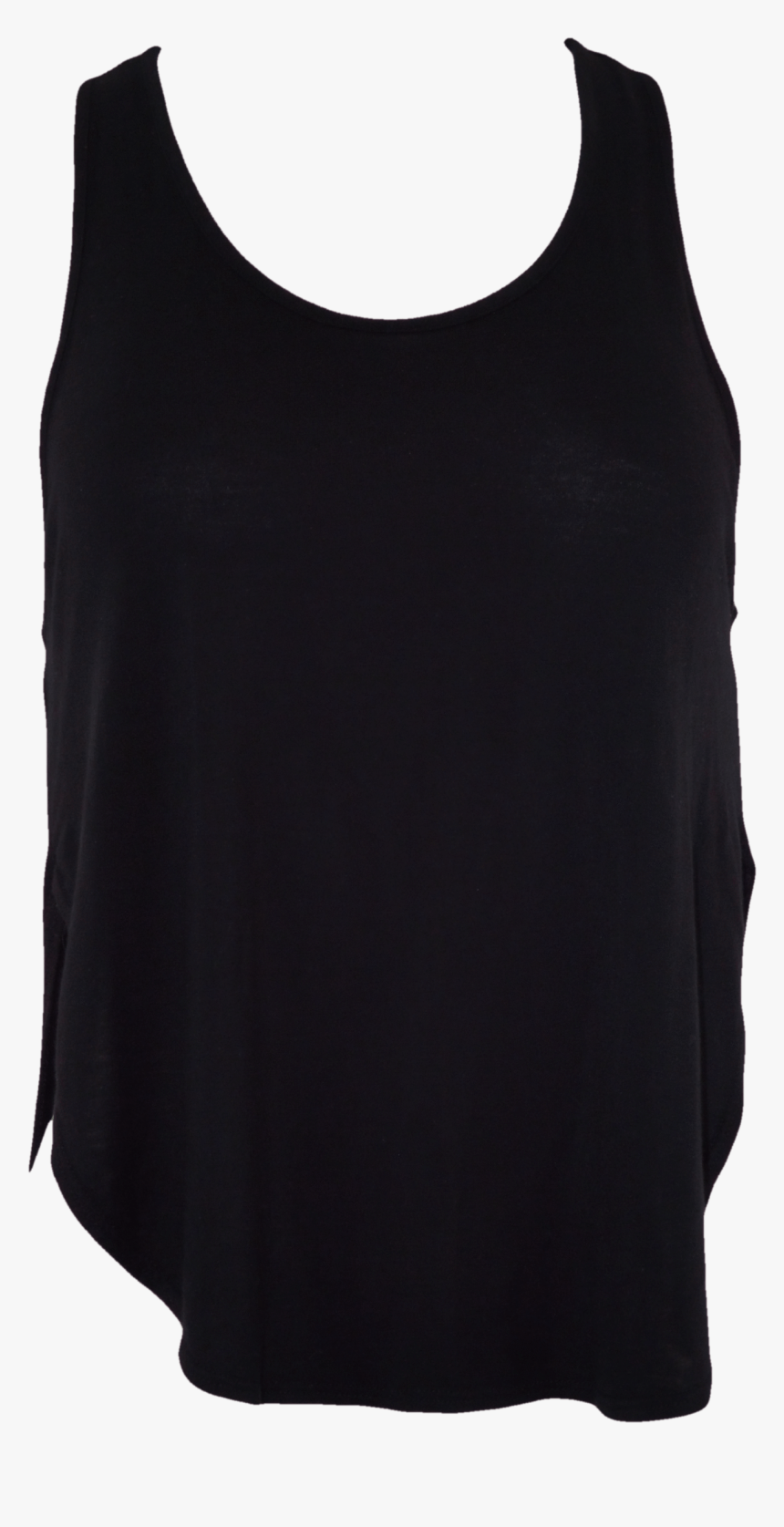 Black Tank Top Png - Active Tank, Transparent Png, Free Download