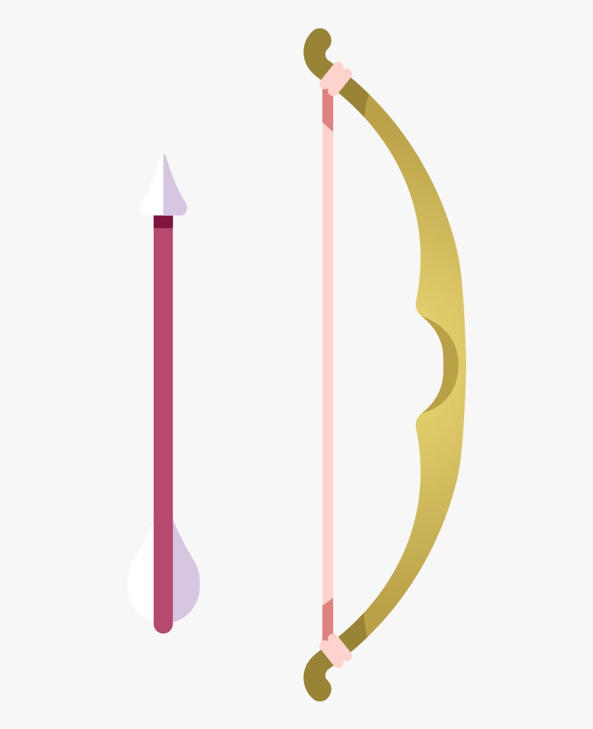 Bow Arrow Icon - Arrow Arc Png, Transparent Png, Free Download