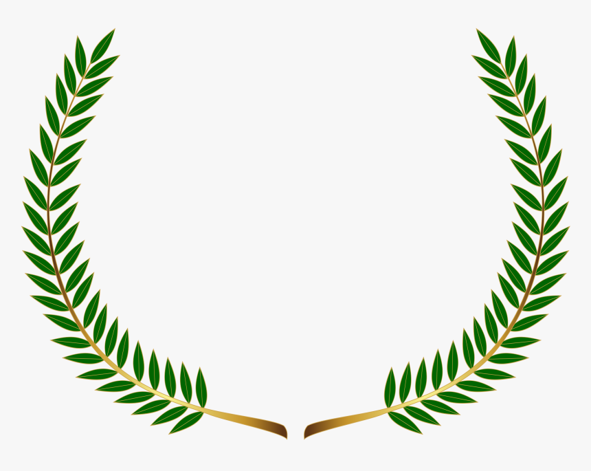 Christmas Wreath Icon Graphics - Black Laurel Wreath Png, Transparent Png, Free Download