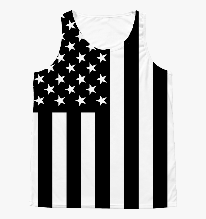 Transparent White American Flag Png - Active Tank, Png Download, Free Download