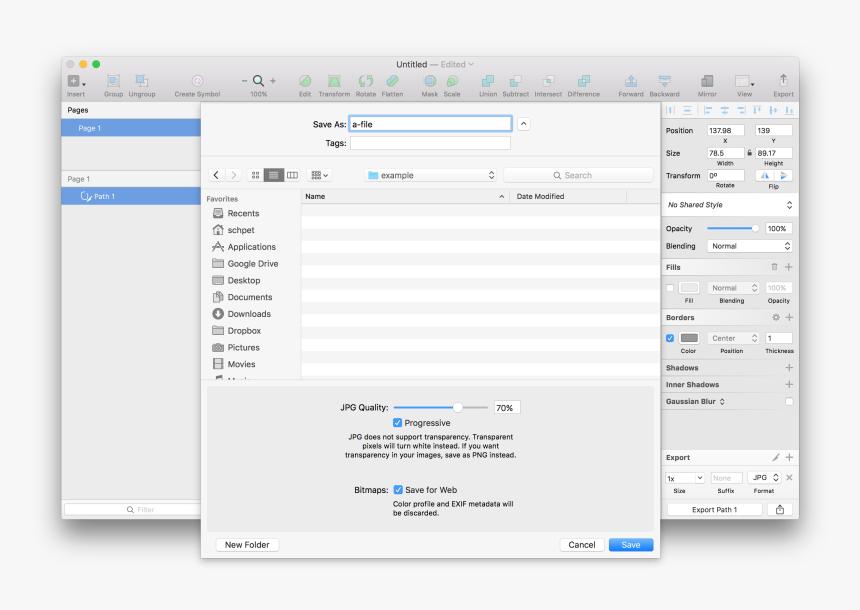 Enter Image Description Here - Export Jpg In Sketch App, HD Png Download, Free Download