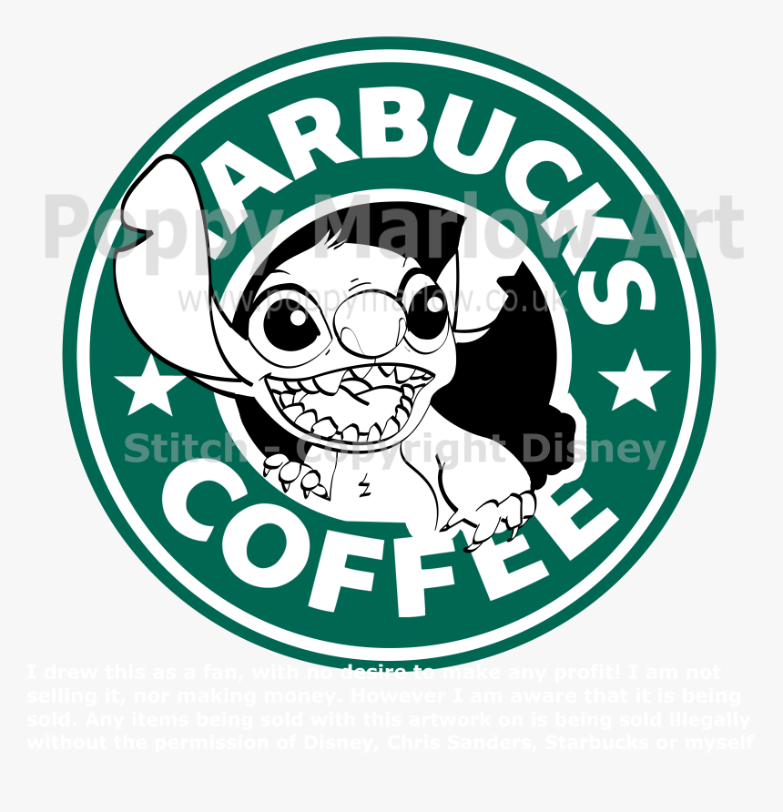 Transparent Starbucks Clipart Stitch Starbucks Logo Hd Png Download Kindpng