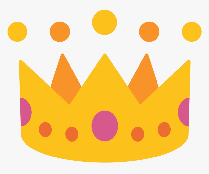 Crown Clip Emoji - Android Crown Emoji Png, Transparent Png, Free Download
