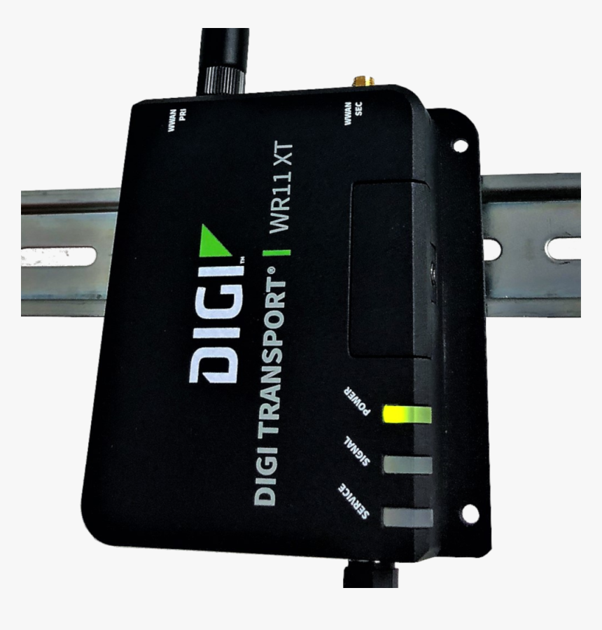 Digi Wr11xt Low Cost 4g Lte Industrial Ethernet Cellular - Industrial 4g Lte Router, HD Png Download, Free Download