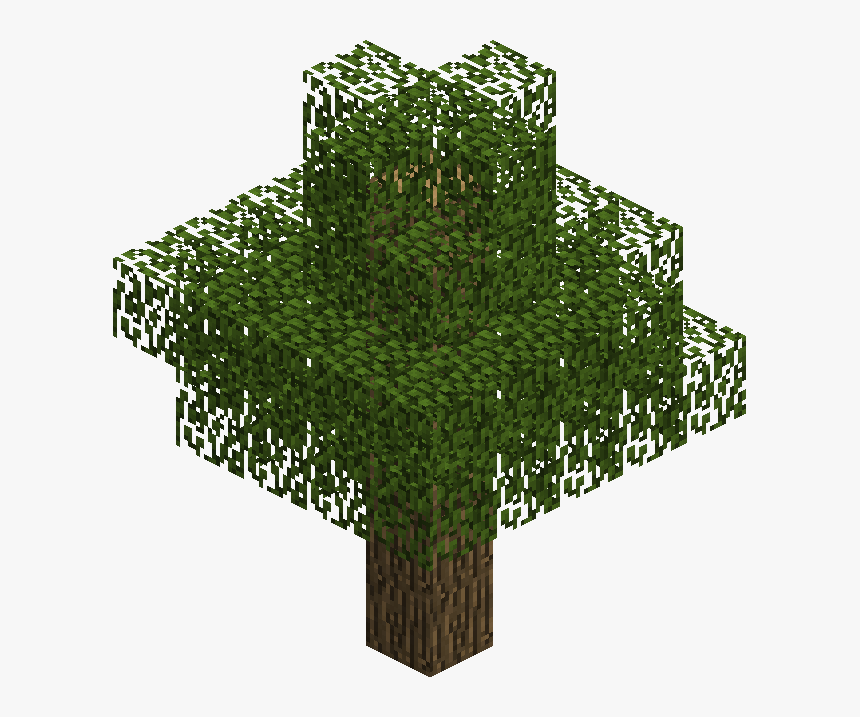 Minecraft Tree Png, Transparent Png, Free Download