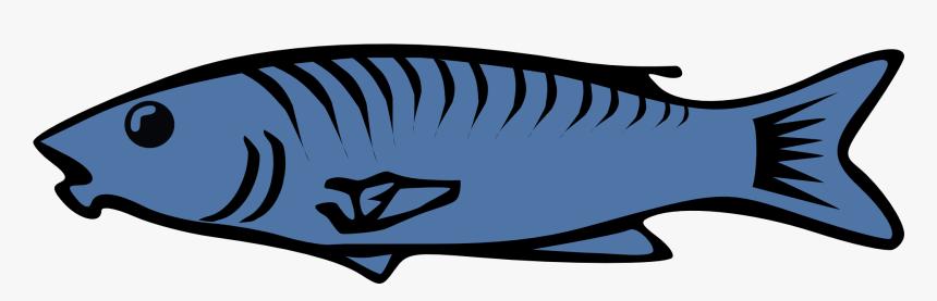 Fish, Sea, Lake, Ocean, Animal, Fins, Food, Marine - Fish Clipart Transparent Background, HD Png Download, Free Download