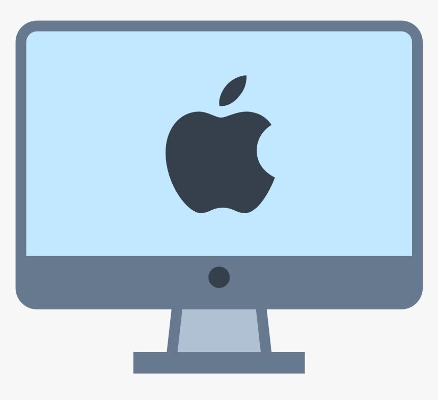 clipart computer mac - apple macbook clipart, hd png download - kindpng  kindpng