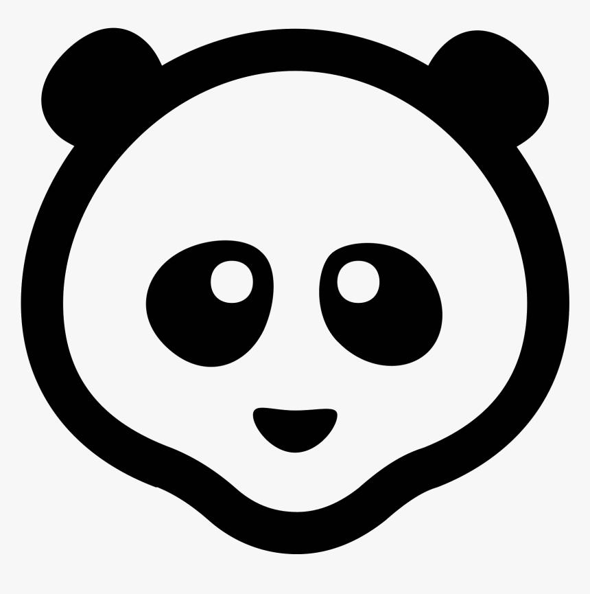 Transparent Giant Panda Png - Icono Panda, Png Download, Free Download