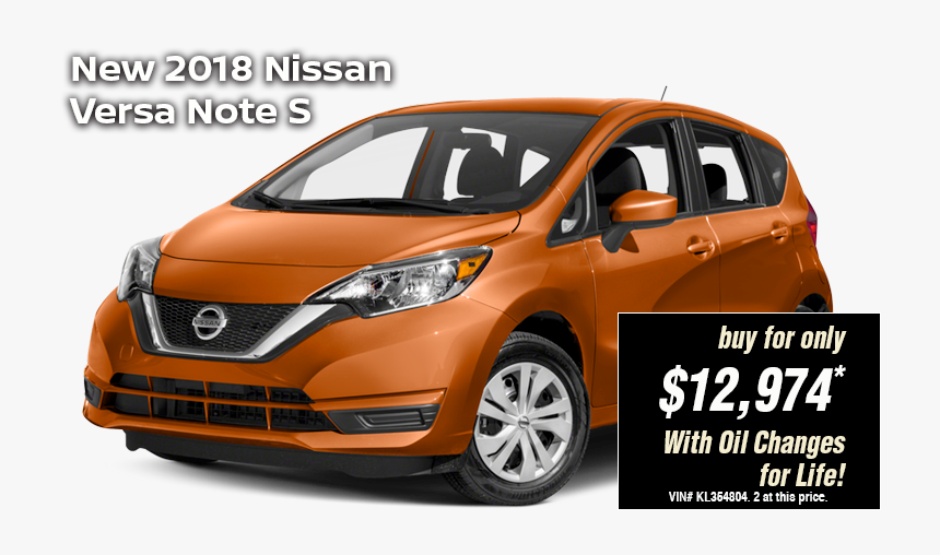 Nissan Versa Note 2018 Price, HD Png Download, Free Download