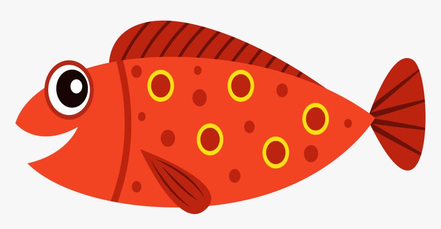 Fish Cartoon Clip Art Transparent Background Fish Clipart Hd Png Download Kindpng