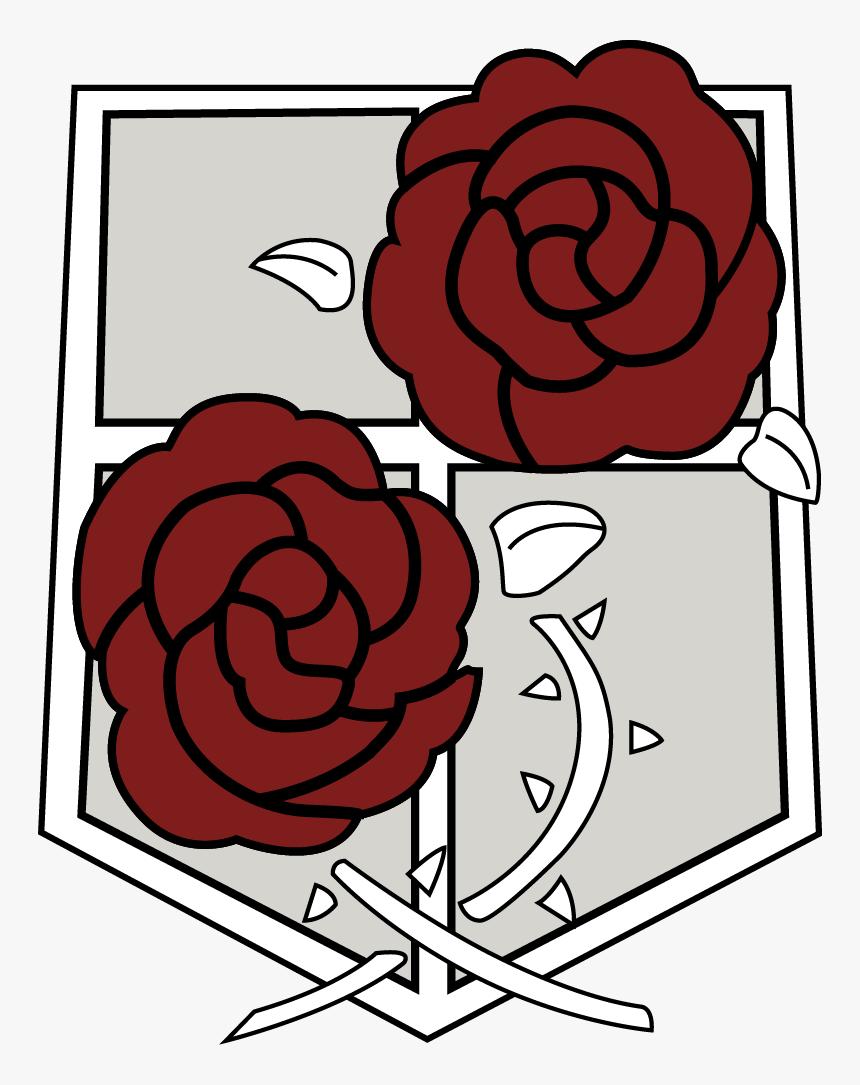 Attack On Titan Rose Logo, HD Png Download, Free Download