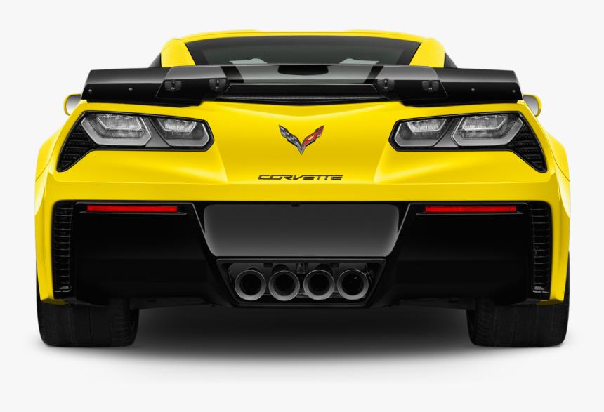 Chevrolet Corvette Png Image - Chevrolet Corvette 2019 Rear, Transparent Png, Free Download