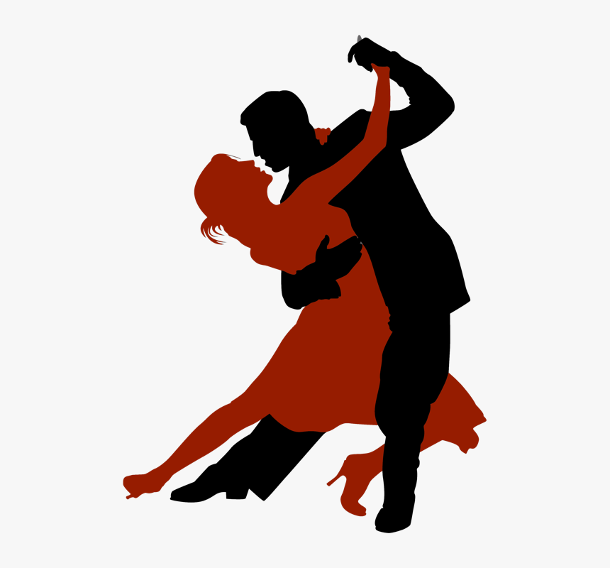 Clip Art Salsa Dancing Images - Dance Man And Woman, HD Png Download, Free Download