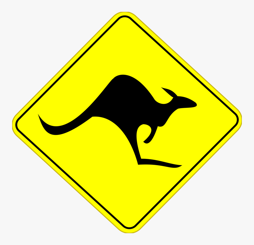 Australia Road Sign, HD Png Download, Free Download