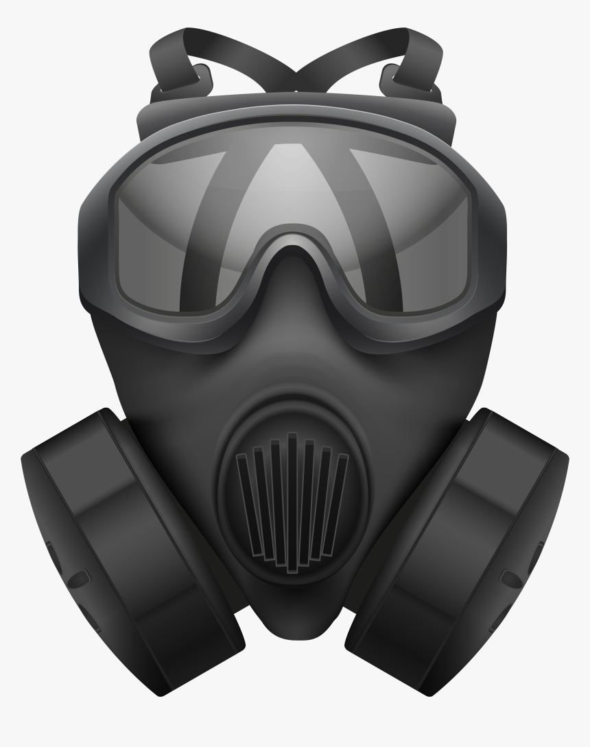 Gas Mask Clip Art - Gas Mask Png, Transparent Png, Free Download