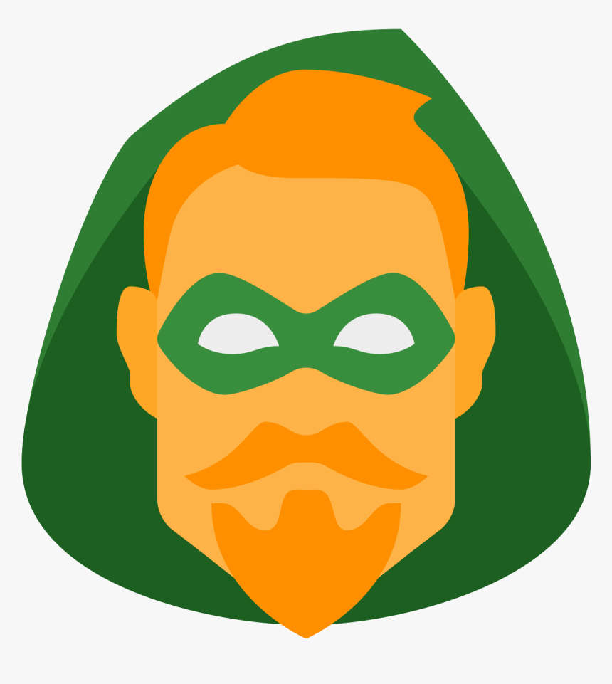 Transparent Green Arrow Logo Png - Green Arrow Icon Dc, Png Download, Free Download