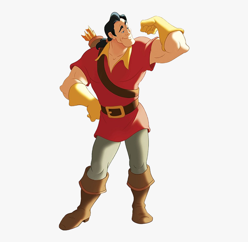Gaston Beauty And The Beast Cartoon, HD Png Download, Free Download