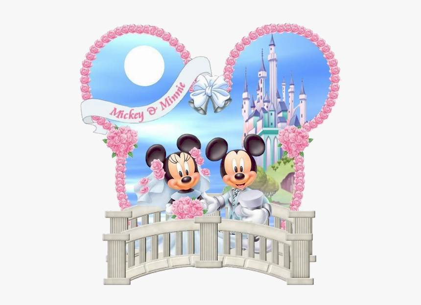 Disney Castle Clipart 2 - Mickey And Minnie Mouse Castle, HD Png Download, Free Download