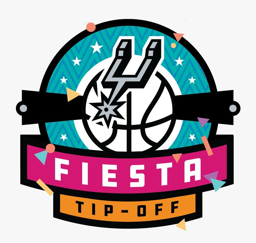 Spurs Fiesta Tip Off San Antonio Spurs Hd Png Download Kindpng