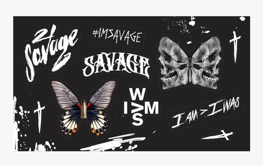 21 savage butterfly hd png download kindpng 21 savage butterfly hd png download