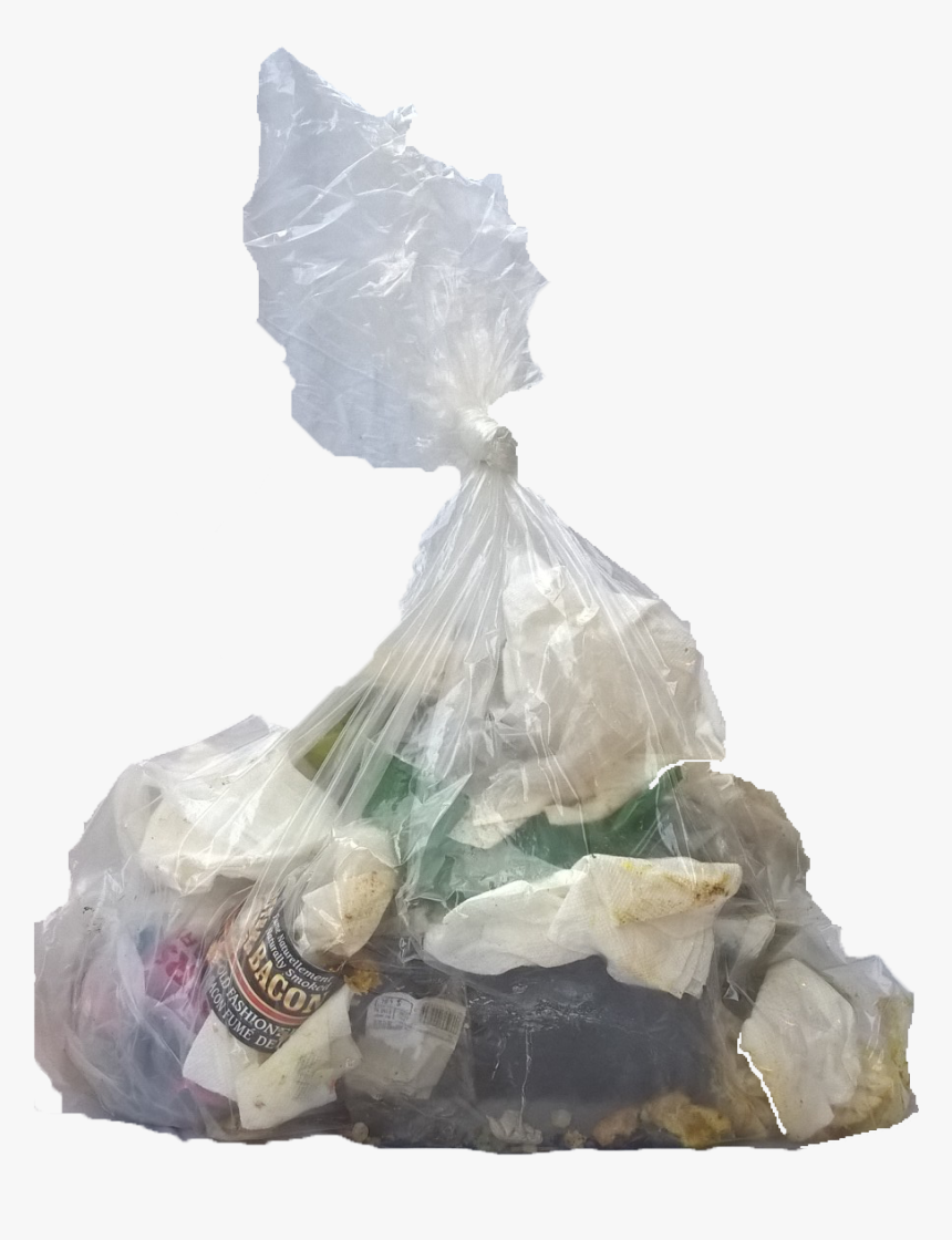 Clear Garbage Bag - Waste Plastic Bag Icon Png, Transparent Png, Free Download