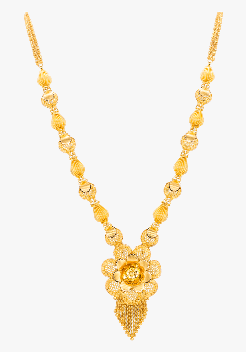 Jewellery Necklace Gold Jewelry Design Wedding Sari - Wedding New Gold Jewellery Designs, HD Png Download, Free Download