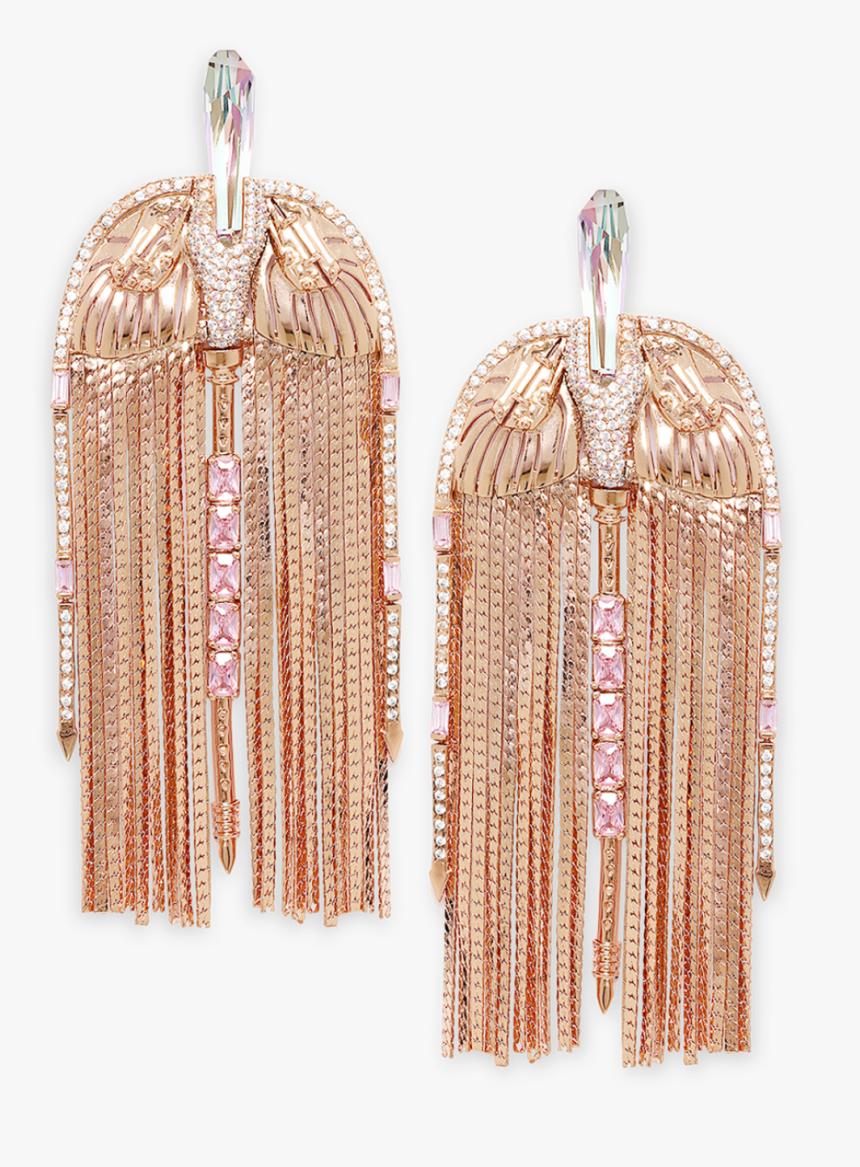 Floe Rose Tassel Earrings - Earrings, HD Png Download, Free Download