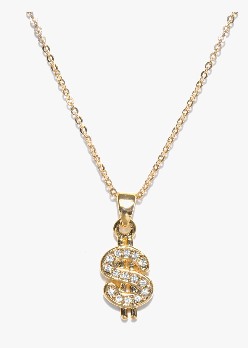 Dollar Chain Png - Dollar Gold Chain Png, Transparent Png, Free Download