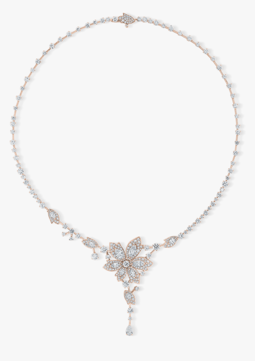 Pm 10 022 01 Necklace Palm Rose Gold - Necklace, HD Png Download, Free Download