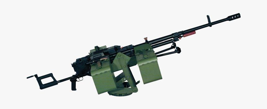 Machine Gun Png - Kord Machine Gun Png, Transparent Png, Free Download