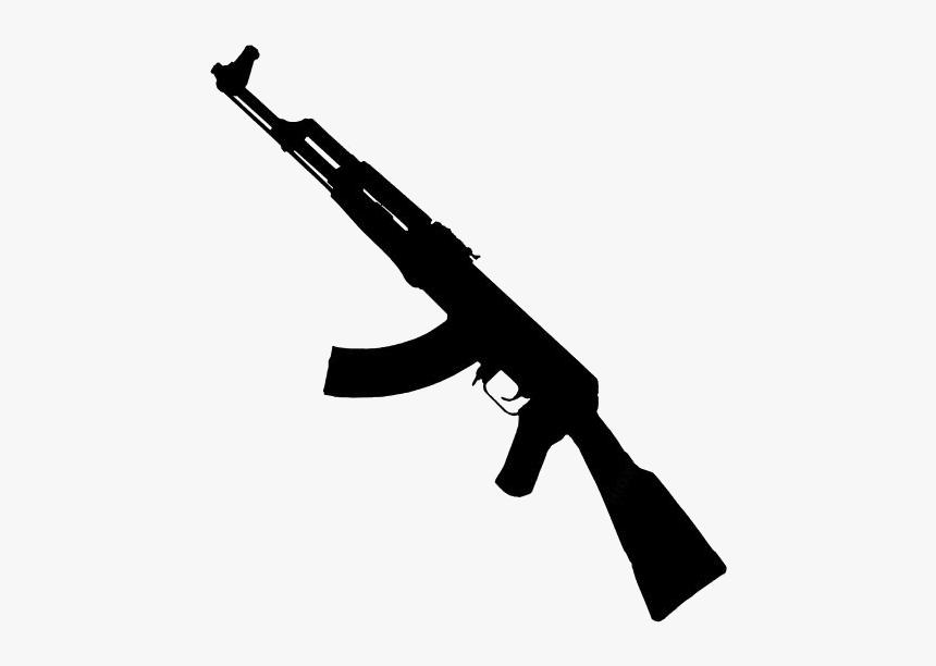 Ak47 Machine Gun Png With Transparent Background - Transparent Background Ak47 Png, Png Download, Free Download