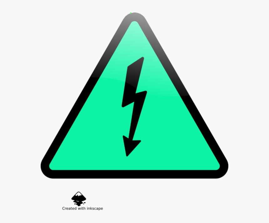 Electricity High Warning Voltage Sign Png Free Photo - Png Emoji Warning Sign, Transparent Png, Free Download