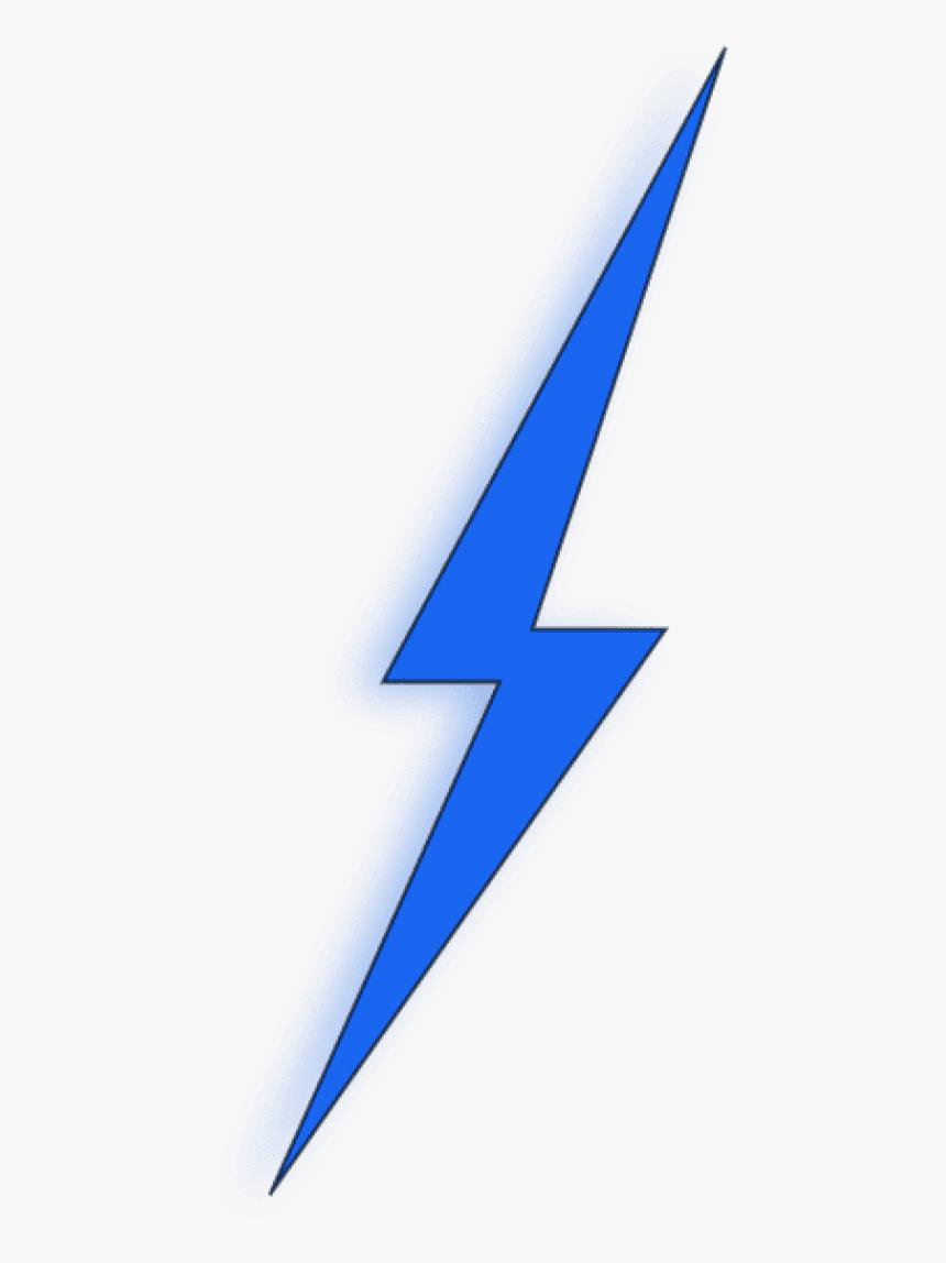 Blue Lightning Bolt Png , Png Download - Blue Lightning Bolt Clipart, Transparent Png, Free Download