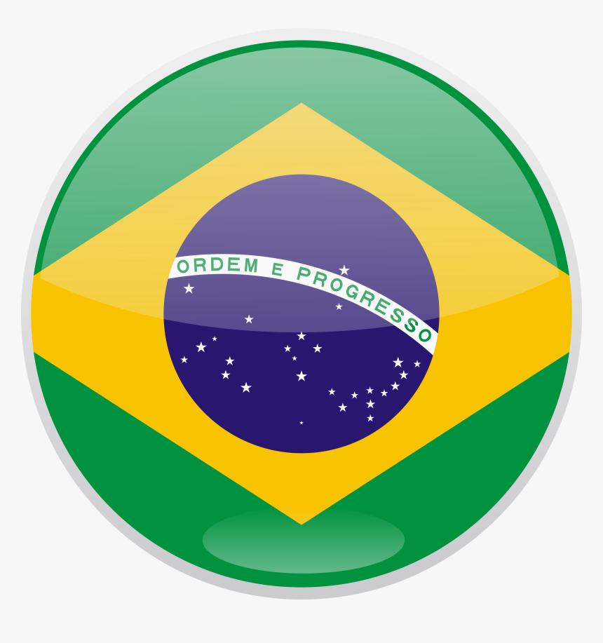 Brazil Flag Png File Brazil Round Flag Png Transparent Png Kindpng