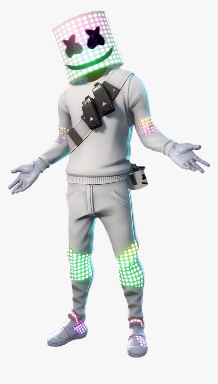 Marshmello Fortnite Png, Transparent Png, Free Download