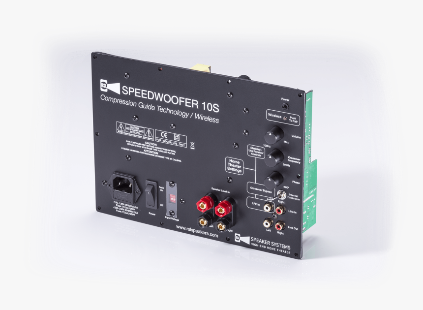 Rsl Speedwoofer 10s, HD Png Download, Free Download