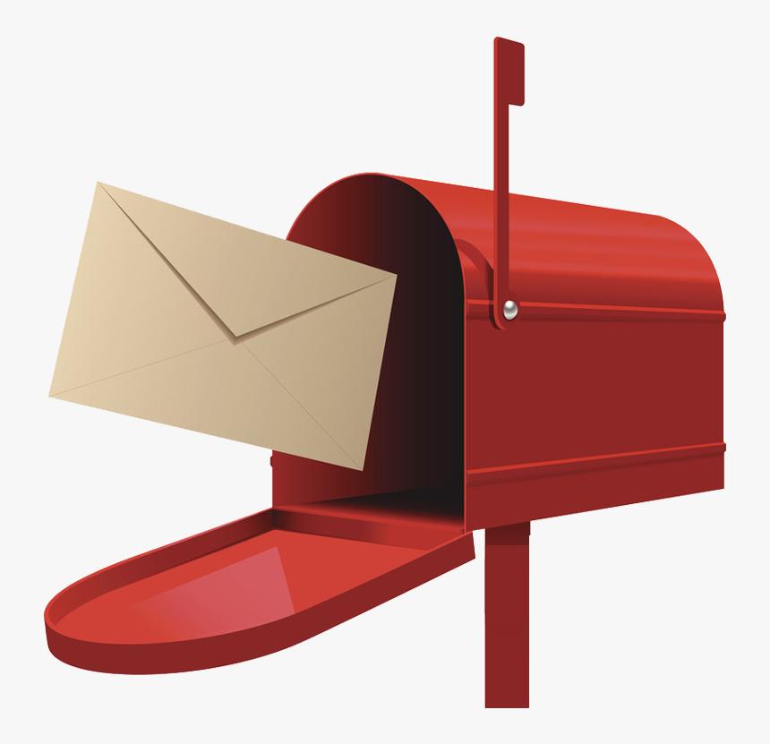 Post Box Letter Illustration - Post Box Png, Transparent Png, Free Download