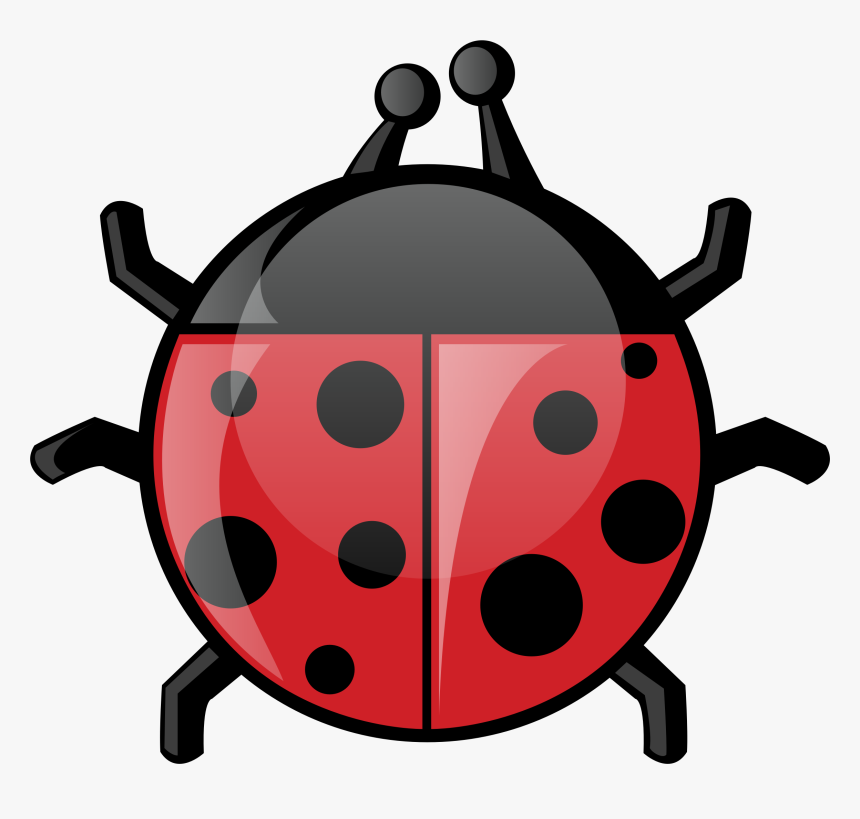 Black And White Clipart Of Lady Bug, HD Png Download, Free Download
