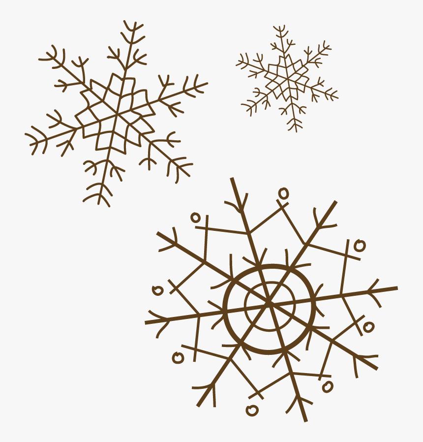 Vector Falling Snowflakes Png Download - Circle, Transparent Png, Free Download