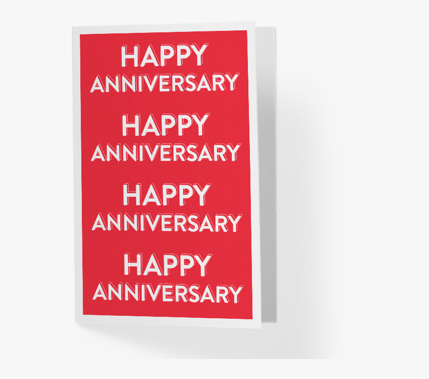Happy Birthday Greeting Card Png Red, Transparent Png, Free Download