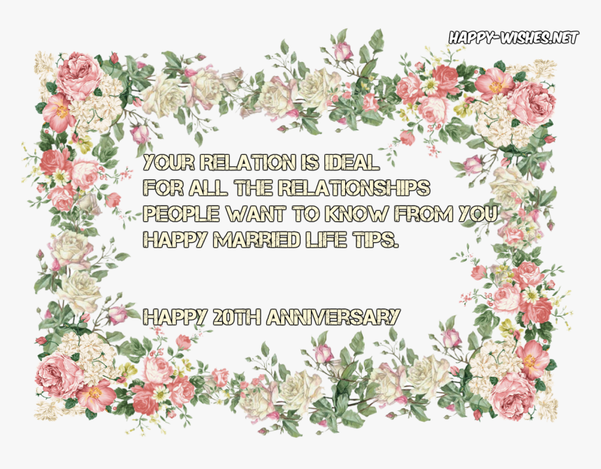 Floral Frame Transparent Background Hd Png Download Kindpng