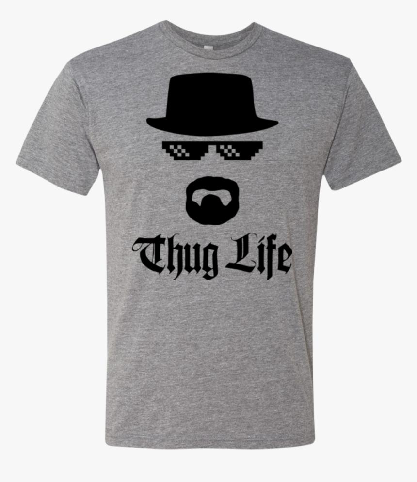 """Thug Life Men""""s Triblend T-shirt - Thug Life, HD Png Download, Free Download"""