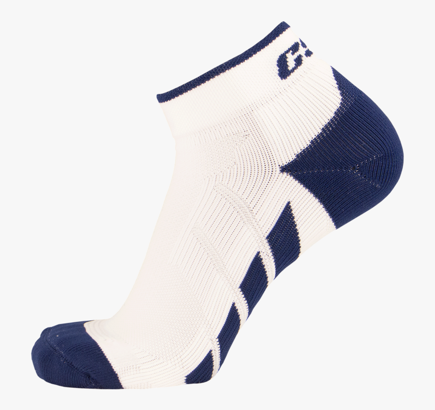Csx X110 High Cut Navy On White Ankle Sock Pro - Sock, HD Png Download, Free Download