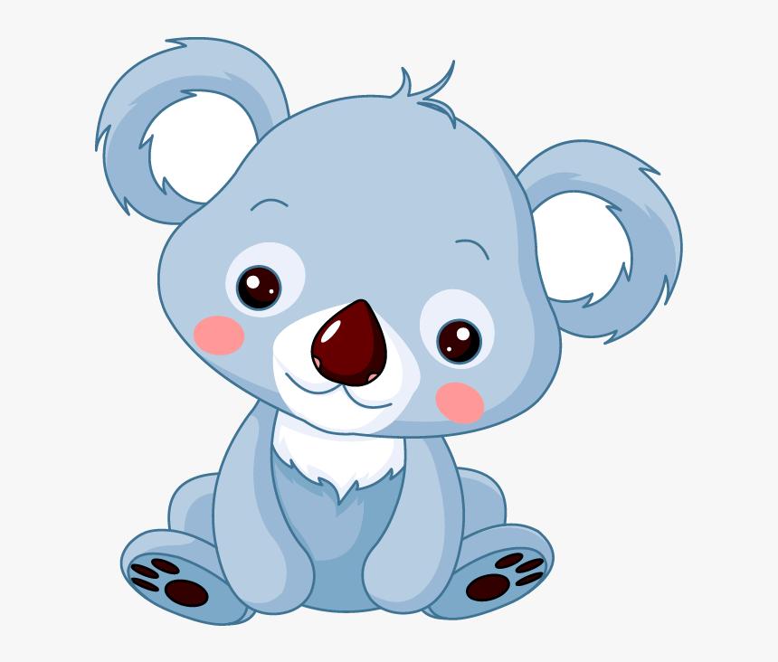 Cuddly Koala Animal Cartoon, HD Png Download, Free Download