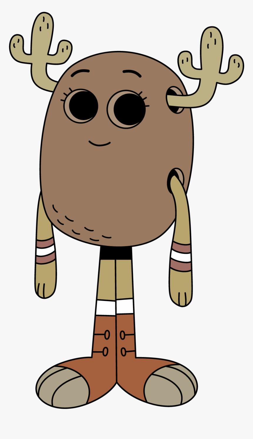 Transparent Penny Clipart Png - Amazing World Of Gumball Moose, Png Download, Free Download
