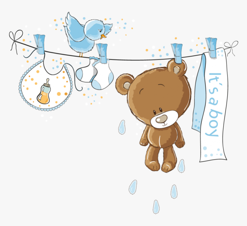 Baby Shower Boy Clipart Free Hd Png Download Kindpng