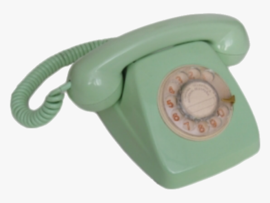 #png #vintage #aesthetic #phone #green #mint #old #vintageaesthetic - Vintage Aesthetic Png, Transparent Png, Free Download